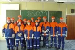 Jahresabschlussübung der Jugendfeuerwehr 2009