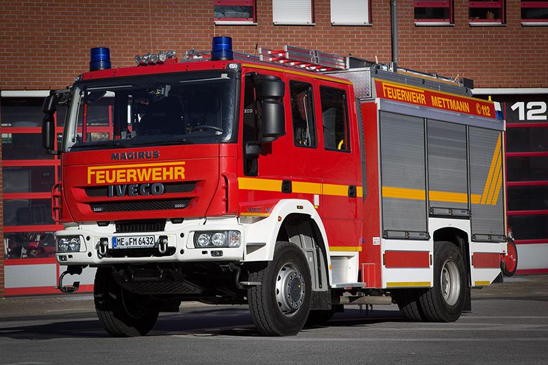 Hilfeleistungslöschgruppenfahrzeug (HLF 20-1), Funkrufname: Florian Mettmann HLF 20-1
