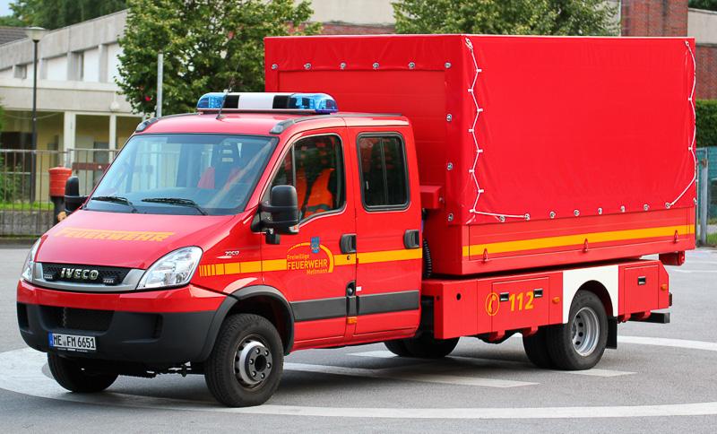 Tanklöschfahrzeug (TLF 24/50), Funkrufname: Florian Mettmann TLF 4000