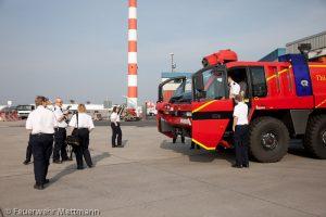Ausflug zur Flughafenfeuerwehr Düsseldorf