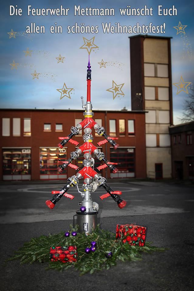 Frohe Weihnachten! – Feuerwehr Mettmann